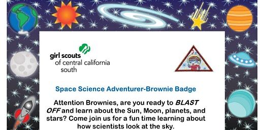 Space Science Adventurer - Brownie Badge - Visalia