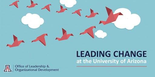 Leading Change at the University of Arizona (Dec 4)