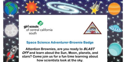 Space Science Adventurer - Brownie Badge - Fresno