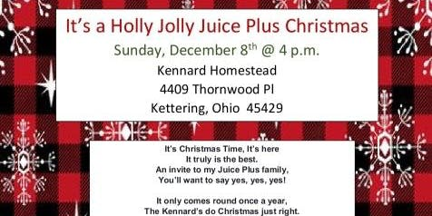 It's a Holly Jolly Juice Plus Christmas