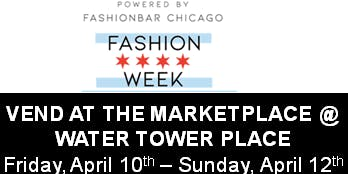 VEND at WATER TOWER PLACE DURING THE MARKETPLACE!  (Eventbrite Special ONLY!)