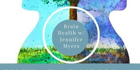 Brain Health Lunch with Jennifer Myers