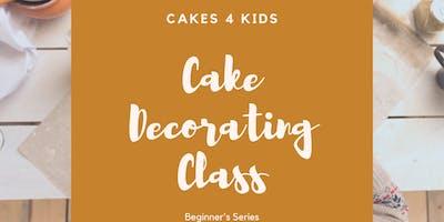 Cake Decorators Class (Beginners)