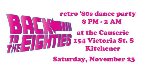 Back to the Eighties: Retro Dance Party! tickets