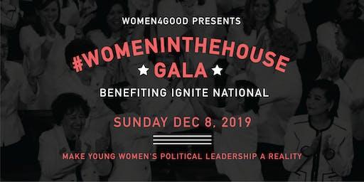The #WomenintheHouse Gala