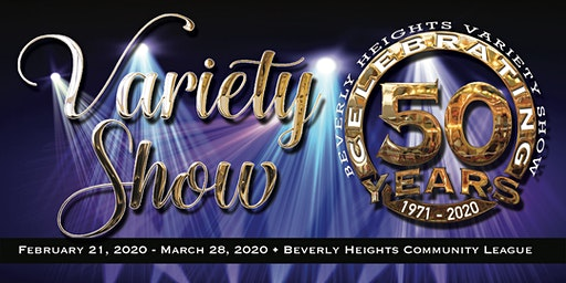 2020 Beverly Heights Variety Show  Gala Event