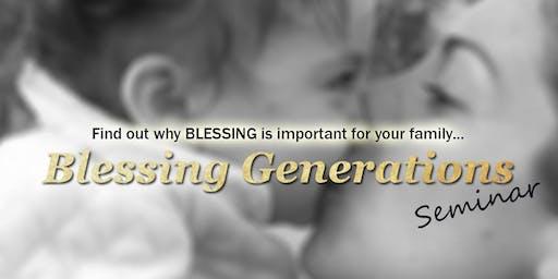 Tasmania: Blessing Generation Seminar 2019