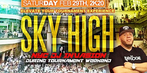5th Annual SkyHigh DAYparty Dj Tyboogie CI Tourney Wknd @ Howl at the Moon