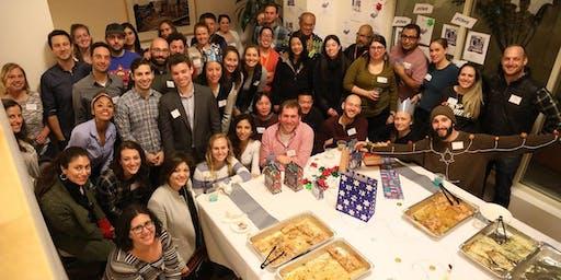 "Hanukkah Bag Assembly— Schmoozing, Noshing & Celebrating ""Russian"" Style!"