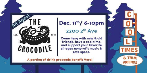 Cool Times & True Friends (Vera Project Fundraiser) @ The Back Bar
