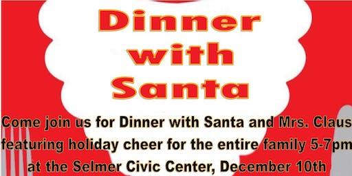 Dinner with Santa tickets