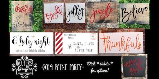 Fairview •Paint Party•