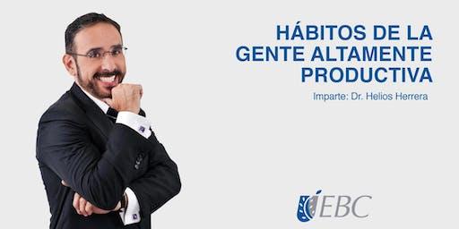 Hábitos de la gente altamente productiva