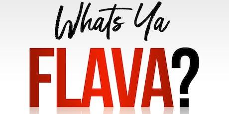 FLAVA FRIDAYS tickets
