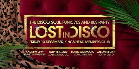 Lost In Disco tickets