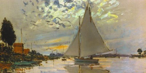 Palette Play - Dec 5th - focus: Monet - theme: Sail Boats