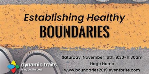 Establishing Healthy Boundaries