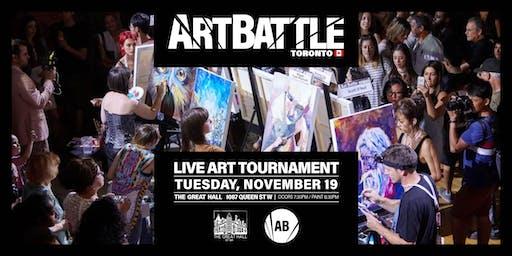 Art Battle Toronto - November 19, 2019