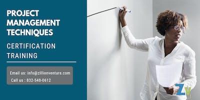 Project Management Techniques Certification Training in Lafayette, LA