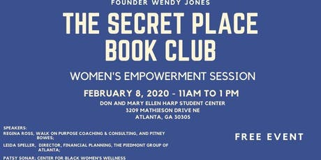 The Secret Place Book Club Ignite Women's Empowerment Session tickets