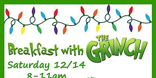 Breakfast with the Grinch!