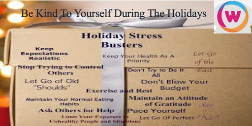 Be Kind To Yourself During the Holidays