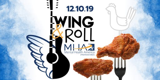 Wing & Roll 4th Annual Fundraising Event - Mental Health America of NWI
