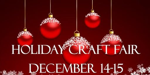 1st Annual Holiday Craft Fair