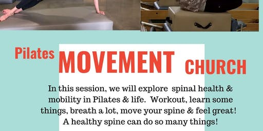 Pilates Movement Church & Wellness Event with Functional Strength Pilates