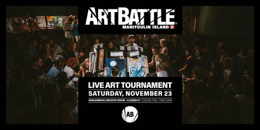 Art Battle Manitoulin Island - November 23, 2019