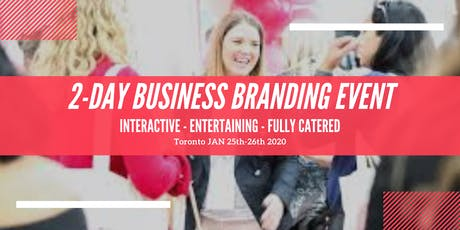 2-Day Entertaining Business Intensive For Power Women tickets