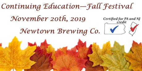 Continuing Education - Fall Festival tickets