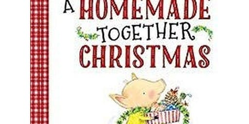 Early Art-Literacy and Art Inspired for Littles. A Homemade Together Christmas (12-14-2019 starts at 10:00 AM)