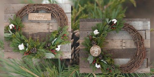 Handmade 365 Holiday Wreath Workshop