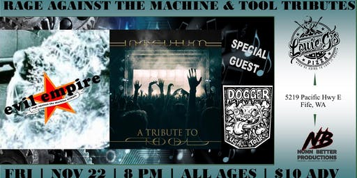Evil Empire [RATM] & Inoculum [Tool] Tributes at Louie G's