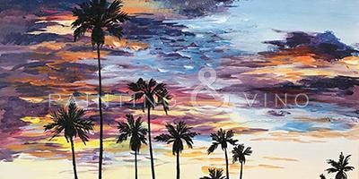 'California Dreamin' Paint and Sip Event