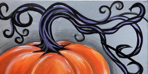 'Stylish Pumpkin' Paint and Sip Event