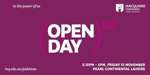 Macquarie University Pakistan Open Day 2019
