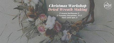 Christmas Wreath Making at Avoca Surfhouse tickets