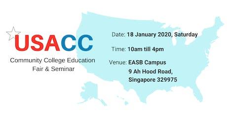 USA Community College (USACC) Education Fair & Seminar 2020 tickets
