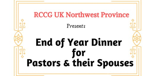 Provincial  End of Year Dinner for Parish Pastors and Spouses