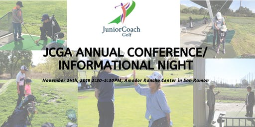 JCGA Conference/Informational Night: Learn about free youth golf lessons!
