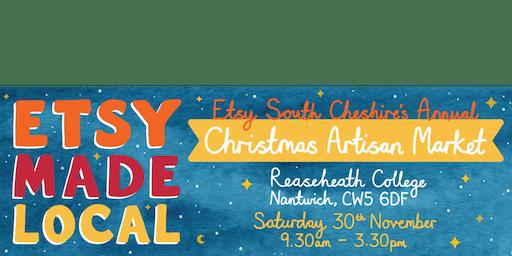 Etsy Made Local - Etsy South Cheshire Christmas Artisan Market