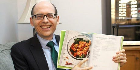 Dinner, Choice of Book, and Book Signing with Dr. Michael Greger tickets