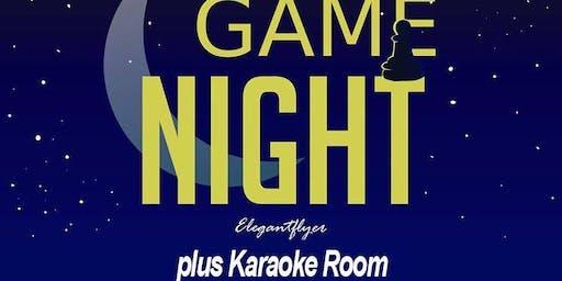 Social Game Night & Karaoke