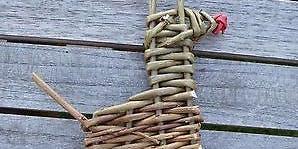 Festive Willow Weaving: Reindeer
