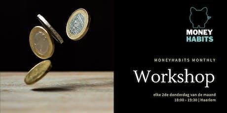 Monthly MoneyHabits workshop tickets