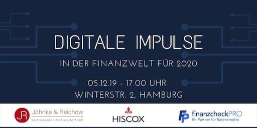 Digitale Impulse in der Finanzwelt für 2020