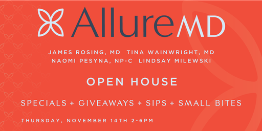 OPEN HOUSE - Dr. James Rosing, Dr. Tina Wainwright, Lindsay Milewski