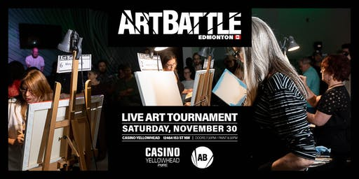 Art Battle Edmonton - November 30, 2019